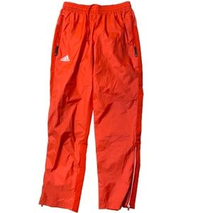 ADIDAS Women's WOVEN Red Track PANTS Small